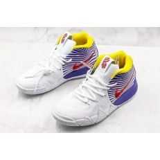 NIKE KYRIE 4 EP WHITE PURPLE RED 943807-601