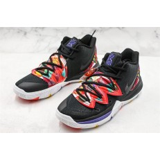 NIKE KYRIE 5 EP MULTI COLOR BLACK WHITE AO2919-010