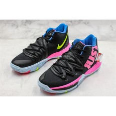 NIKE KYRIE 5 JUST DO IT BLACK PINK BLUE AO2919-003