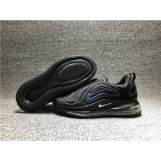 KID'S NIKE AIR MAX 720 BLACK DARK BLUE AO2924-016
