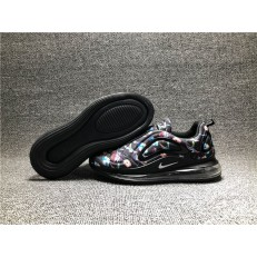KID'S NIKE AIR MAX 720 BLACK FLOWERS AO2924-010