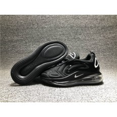 KID'S NIKE AIR MAX 720 BLACK WHITE AO2924-002