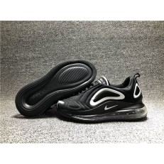 KID'S NIKE AIR MAX 720 BLACK WHITE AO2924-302