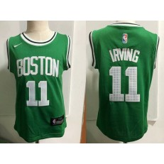 Boston Celtics #11 Kyrie Irving Green Nike Toddler Jersey
