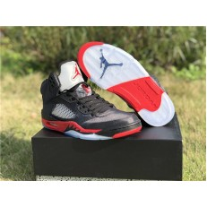 AIR JORDAN 5 RETRO SATIN BRED 136027-006