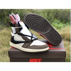 TRAVIS SCOTT x AIR JORDAN 1 HI MOCHA CD4487-100
