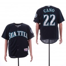 MLB Seattle Mariners #22 Robinson Cano Navy Cool Base Jersey