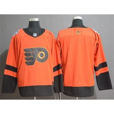 Philadelphia Flyers Orange 2019 NHL Stadium Series Adidas NHL Men Jersey