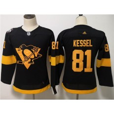 Pittsburgh Penguins 81 Evgeni Kessel Black Youth 2019 NHL Stadium Series Adidas Jersey