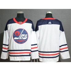 Winnipeg Jets White Breakaway Heritage Adidas NHL Men Jersey