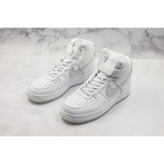 NIKE AIR FORCE 1 HI TRIPLE WHITE ICE 573972-101