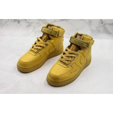 NIKE AIR FORCE 1 HI UTILITY WHEAT GOLD MUTED BRONZE AJ7311-700