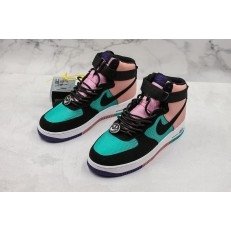NIKE AIR FORCE 1 HI 07 LV8 PINK BLUE CI2306-300