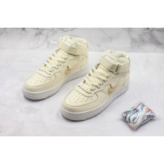 NIKE WMNS AIR FORCE 1 HI 07 SE PRM CREAM AH6826-112