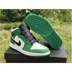 AIR JORDAN 1 MID SE PINE GREEN 852542-301