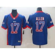 Buffalo Bills #17 Josh Allen Royal Drift Fashion Limited Nike NFL Men Jersey