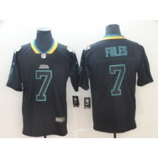 Jacksonville Jaguars #7 Nick Foles Black Shadow Legend Limited Nike NFL Men Jersey