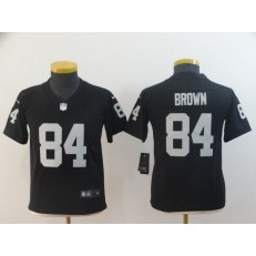 Youth Nike Oakland Raiders #84 Antonio Brown Black Vapor Untouchable Limited Jersey