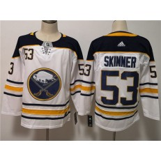 Buffalo Sabres #53 Jeff Skinner White Adidas NHL Men Jersey