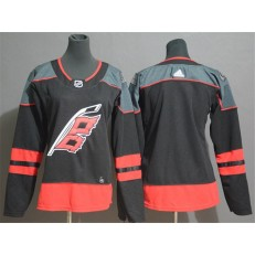 Carolina Hurricanes Blank Black Women Adidas Jersey