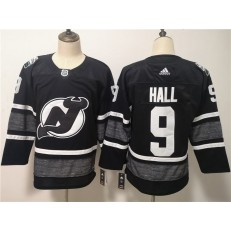 New Jersey Devils #9 Taylor Hall Black 2019 NHL All-Star Game Adidas Jersey