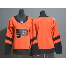 Philadelphia Flyers Blank Orange Women 2019 NHL Stadium Series Adidas Jersey