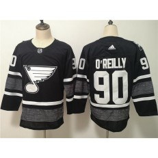 St.Louis Blues #90 Ryan O'Reilly Black 2019 NHL All-Star Game Adidas Jersey