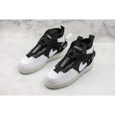 NIKE AIR FORCE 1 HI 07 LV8 BLACK WHITE AO2441-100