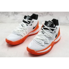 NIKE KYRIE 5 HOT LAVA WHITE ORANGE BLACK BQ5952-100