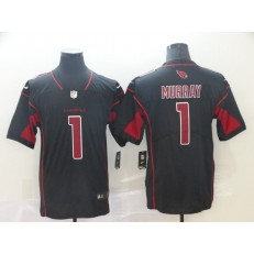 Arizona Cardinals #1 Kyler Murray Black 2019 NFL Draft First Round Pick Color Rush Limited Nike Men Jersey