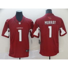 Arizona Cardinals #1 Kyler Murray Red 2019 NFL Draft First Round Pick Vapor Untouchable Limited Nike Men Jersey