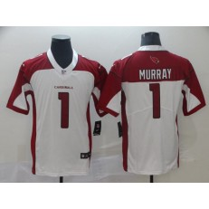 Arizona Cardinals #1 Kyler Murray White 2019 NFL Draft First Round Pick Vapor Untouchable Limited Nike Men Jersey