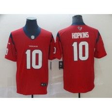 Houston Texans #10 DeAndre Hopkins Red New 2019 Vapor Untouchable Limited Nike NFL Men Jersey