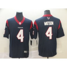 Houston Texans #4 Deshaun Watson Navy New 2019 Vapor Untouchable Limited Nike NFL Men Jersey