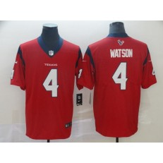 Houston Texans #4 Deshaun Watson Red New 2019 Vapor Untouchable Limited Nike NFL Men Jersey