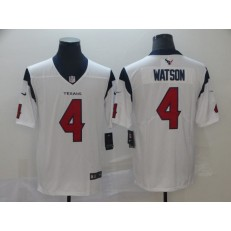 Houston Texans #4 Deshaun Watson White New 2019 Vapor Untouchable Limited Nike NFL Men Jersey