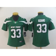 Women Nike New York Jets #33 Jamal Adams Green New 2019 Vapor Untouchable Limited Jersey