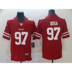 Youth Nike San Francisco 49ers #97 Nick Bosa Scarlet 2019 NFL Draft First Round Pick Vapor Untouchable Limited Jersey