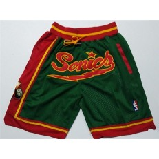 Phoenix Suns Green Just Don Throwback Shorts