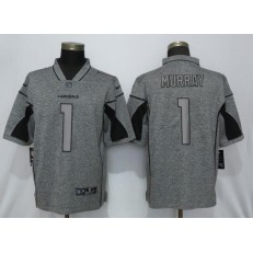 Arizona Cardinals 1 Kyler Murray Gray Gridiron Gray Vapor Untouchable Limited NFL Nike Men Jersey