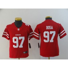 Youth Nike San Francisco 49ers 97 Nick Bosa Scarlet 2019 NFL und Pick Vapor Untouchable Limited Jersey