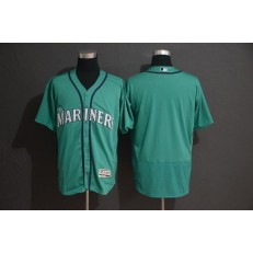 MLB Seattle Mariners Blank Green Flexbase Men Jersey