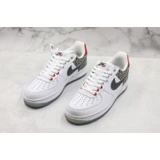 NIKE AIR FORCE 1 LOW 07 WHITE SILVER AO4261-100
