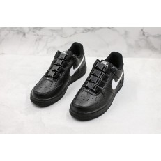 NIKE AIR FORCE 1 LOW BLACK SNAP 318985-001