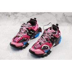 BALENCIAGA TRACK TRAINERS 3.0 PINK BLACK BLUE