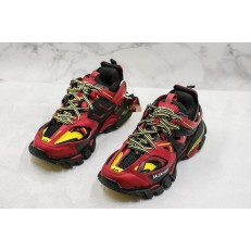 BALENCIAGA TRACK TRAINERS 3.0 RED BLACK YELLOW