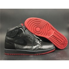 AIR JORDAN 1 HI BLACK RED DC7071-001