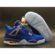 AIR JORDAN 4 RETRO GAME ROYAL ORANGE WHITE AJ4-904283