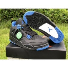 AIR JORDAN 4 RETRO HI BLACK BLUE BQ9043-403