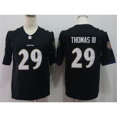 Baltimore Ravens #29 Earl Thomas III Black Vapor Untouchable Limited Nike NFL Men Jersey